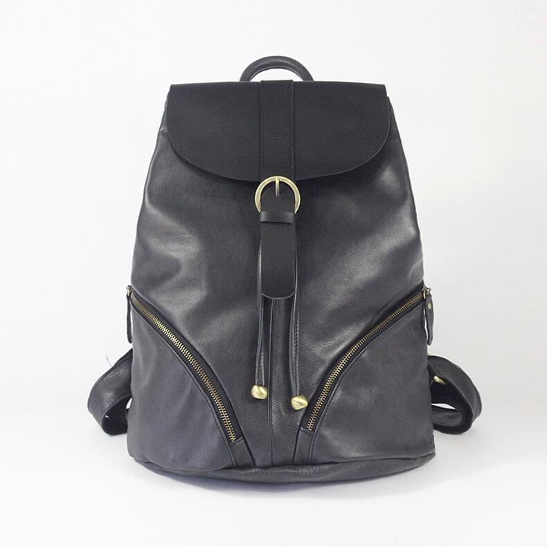 rucksack damen leder modern