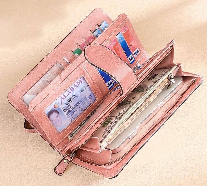 brieftasche damen leder