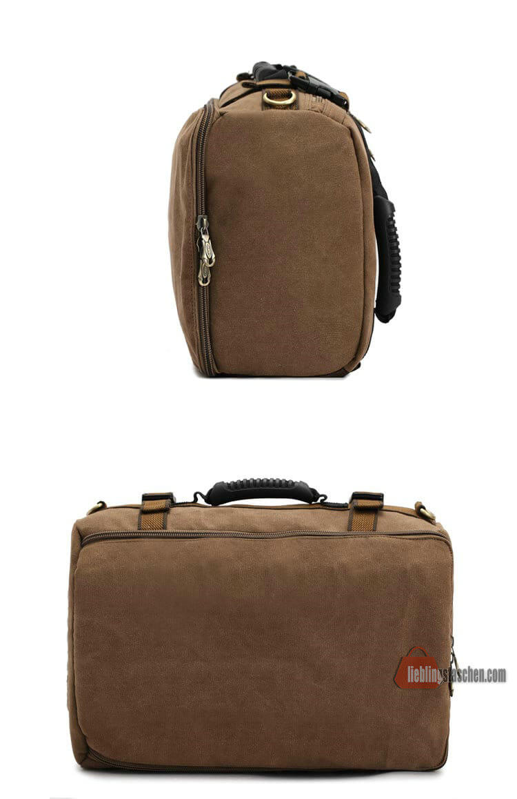 backpack rucksack segeltuch reiserucksack herren