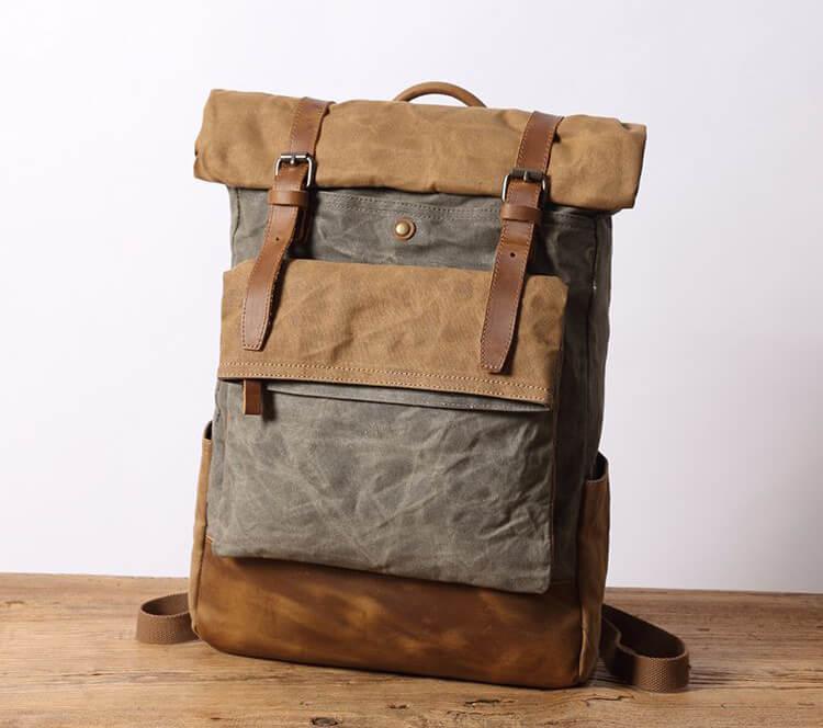 herren rucksack canvas