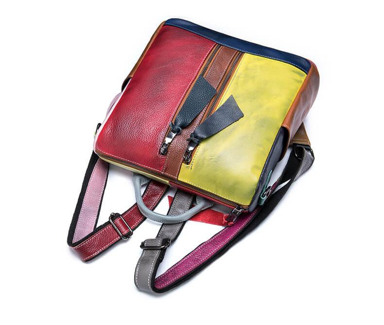 2 in 1 rucksack handtasche damen