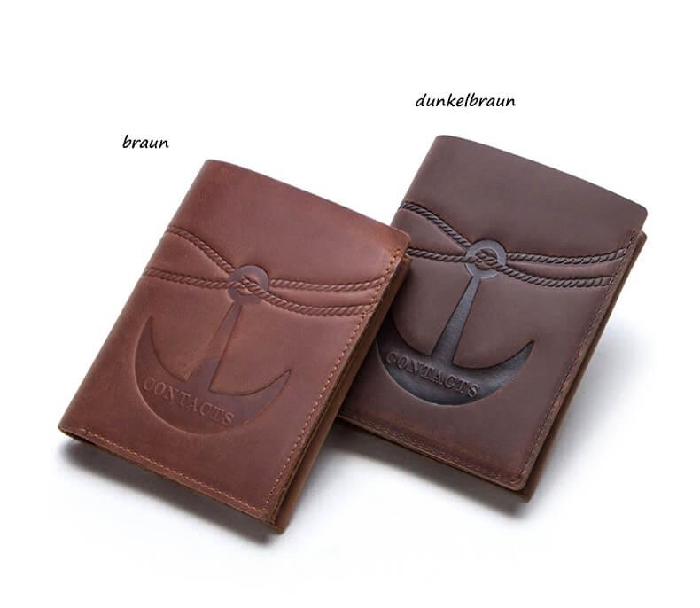 portemonnaie herren braun