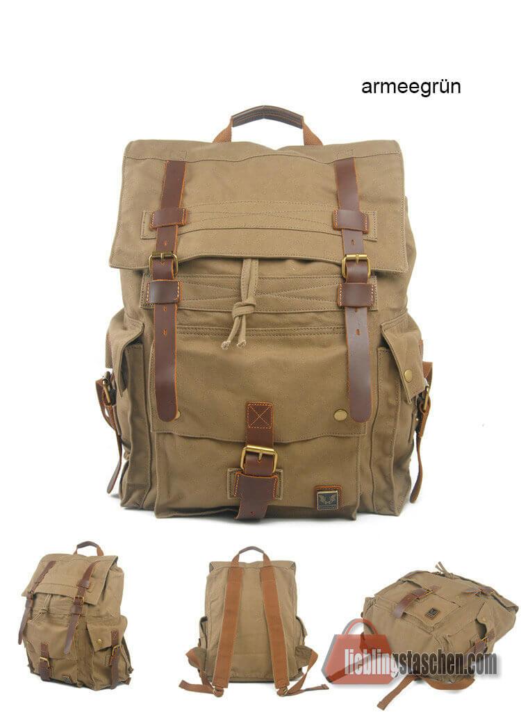rucksack vintage herren