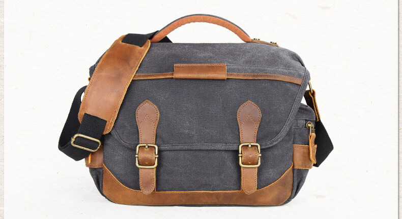 shoulder bag mens canvas
