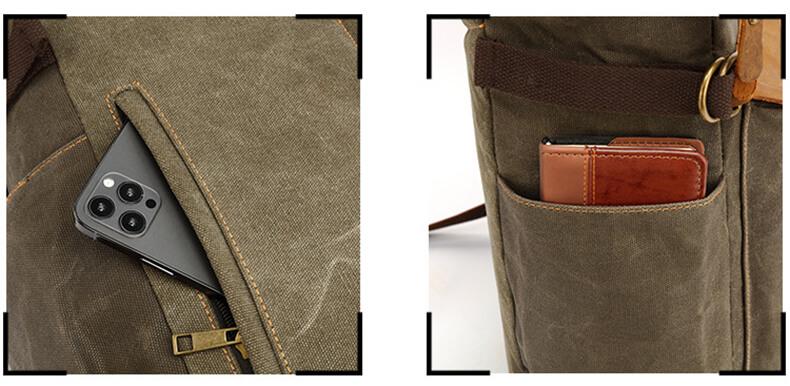 herren rucksack vintage