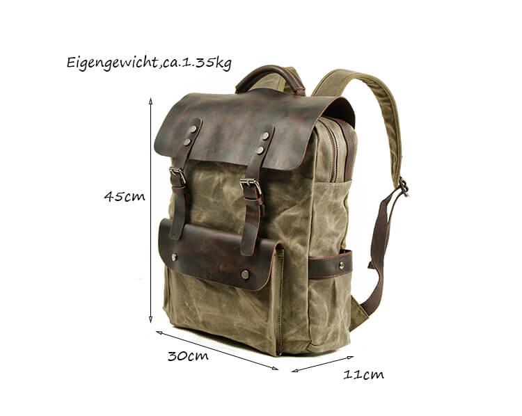 rucksack herren vintage