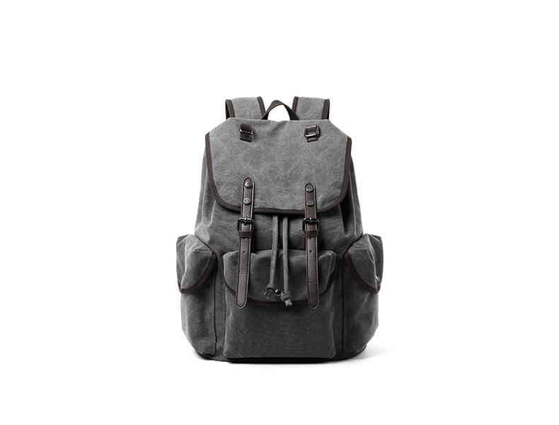rucksack herren laptop segeltuch f r uni rucksackreisen. Black Bedroom Furniture Sets. Home Design Ideas