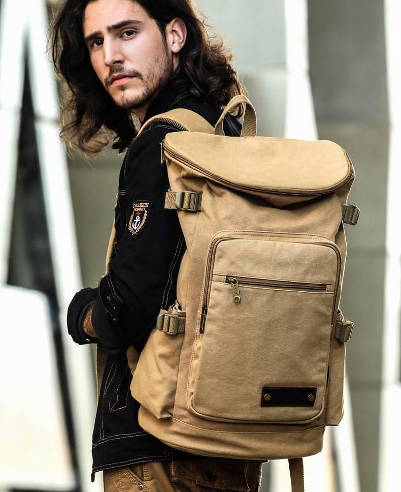 canvas rucksack herren