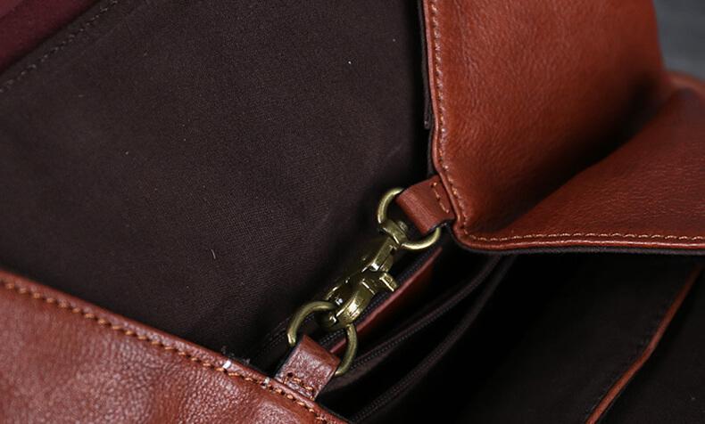 rucksack leder braun