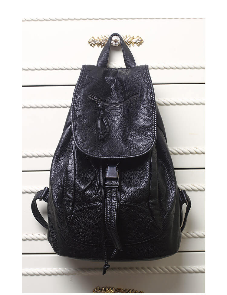 leder rucksack damen backpack