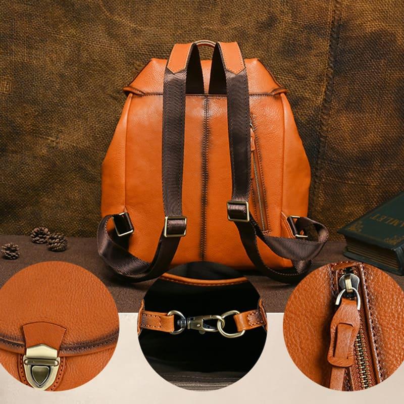 rucksack damen modern schwarz