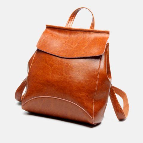 rucksack damen braun