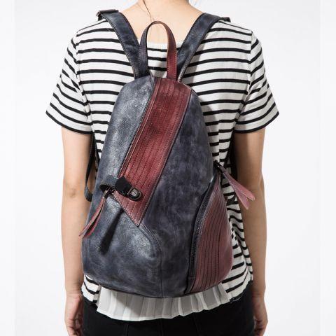 moderner Rucksack Damen aus Leder