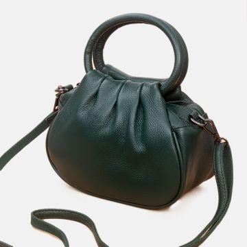 damen handtasche grün