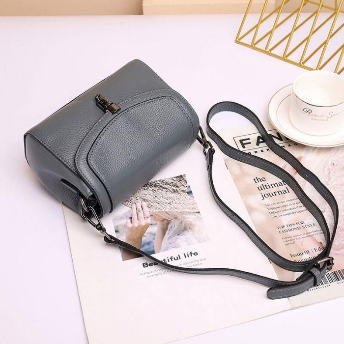 süße Damen Handtasche aus Leder günstige Umhängetasche
