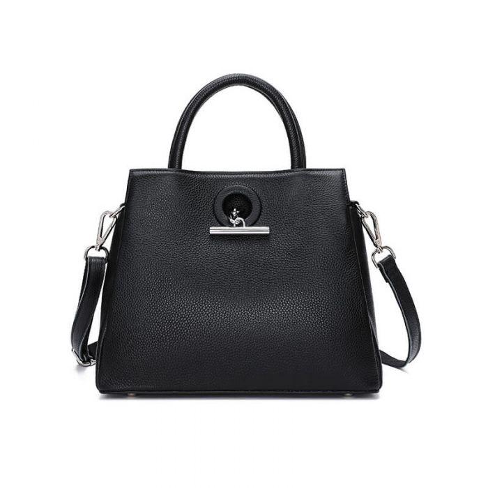 Vintage Umhängetasche Damen Handtasche aus Leder