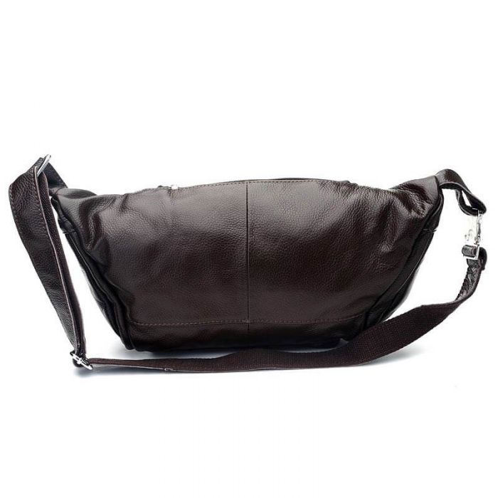 braune Hüfttasche Leder Gürteltasche für Herren
