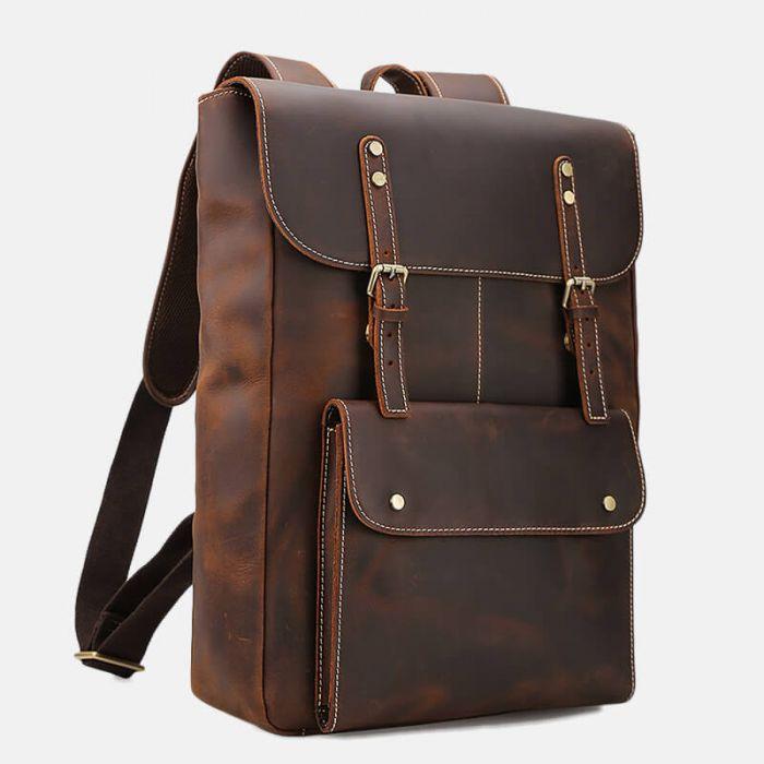 business rucksack leder herren