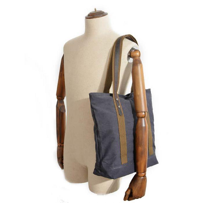 günstige chinesische Handtasche Schultertasche Damen groß Segeltuchtasche