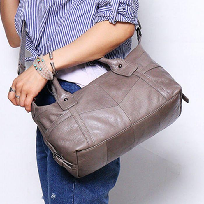 schöne Handtasche Damen zum Umhängen Umhängetasche Leder