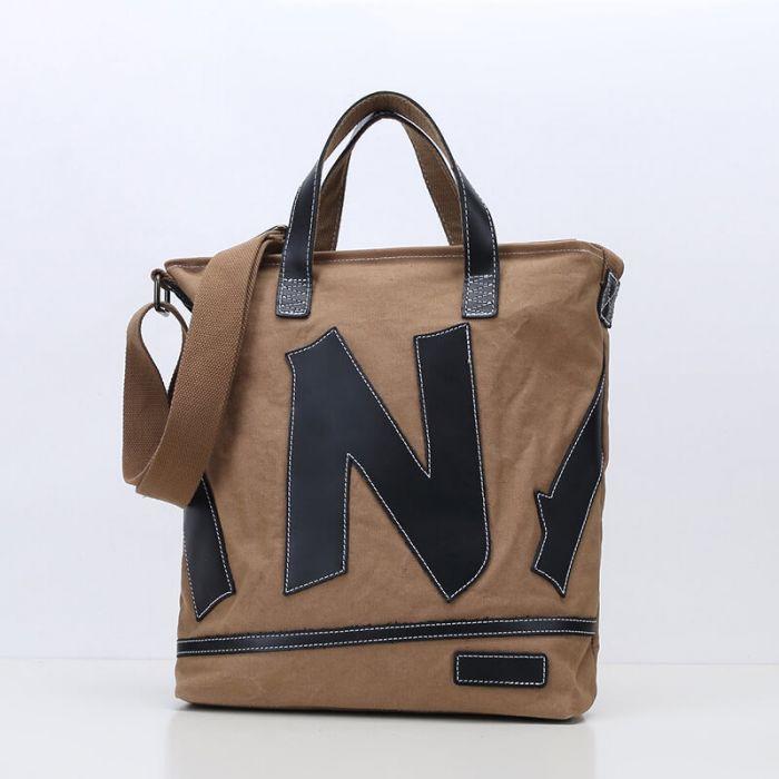 Umhängetasche Damen Handtasche für Alltag Uni Freizeit mit Griff