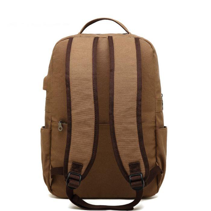 Herren Rucksack Laptop Backpack für Schule und Uni