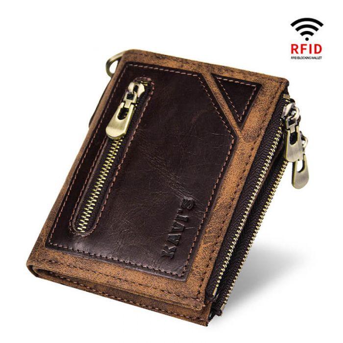 mini geldbörse mit kartenfach und münzfach
