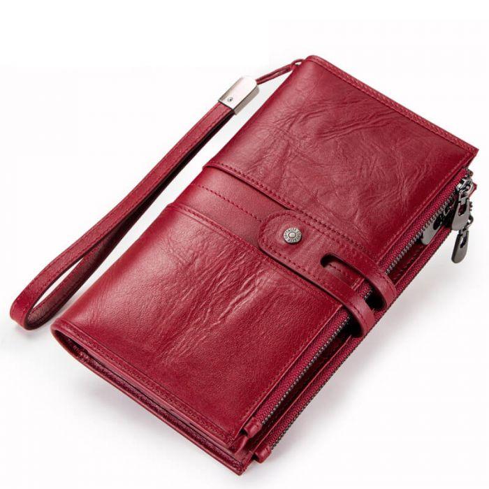 portemonnaie damen lang mit reißverschluss