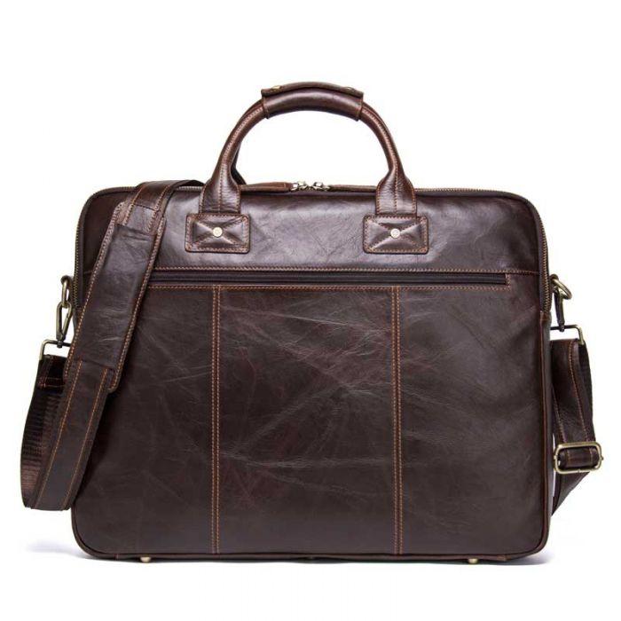 Bussinesstasche Herren Leder Aktentasche Vintage