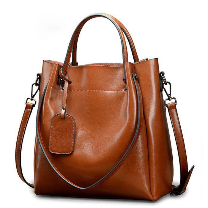 handtasche braun leder