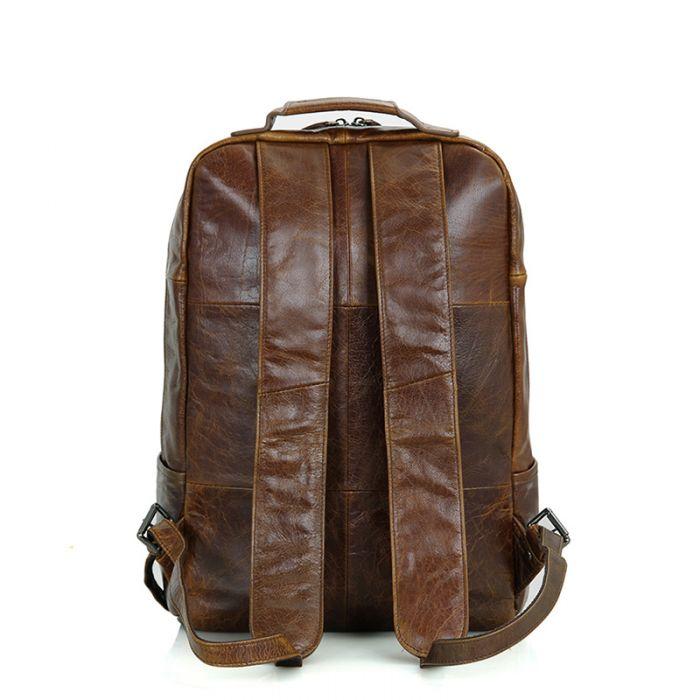 Vintage Leder Rucksack Herren groß mit Laptopfach