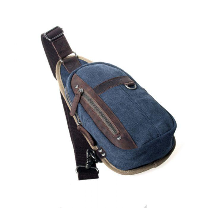 Männer Brusttasche Umhängetasche aus Segeltuch