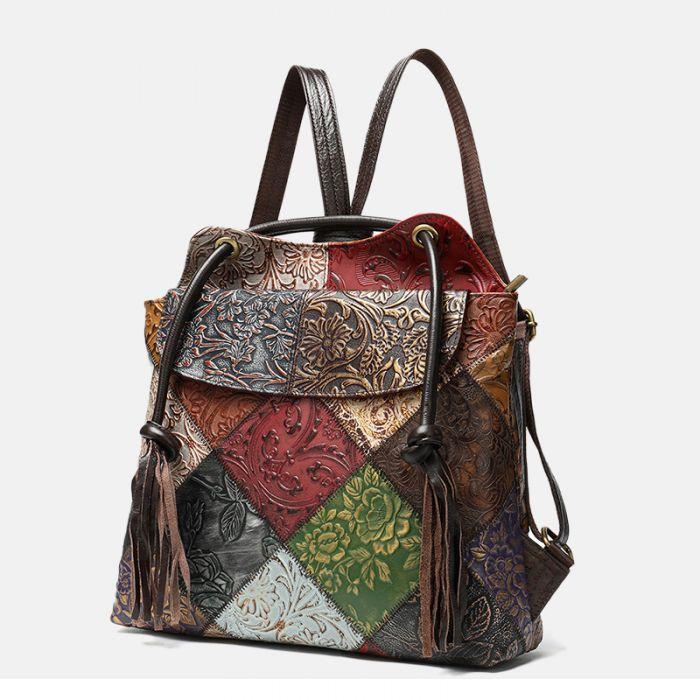 rucksack und schultertasche 2 in 1