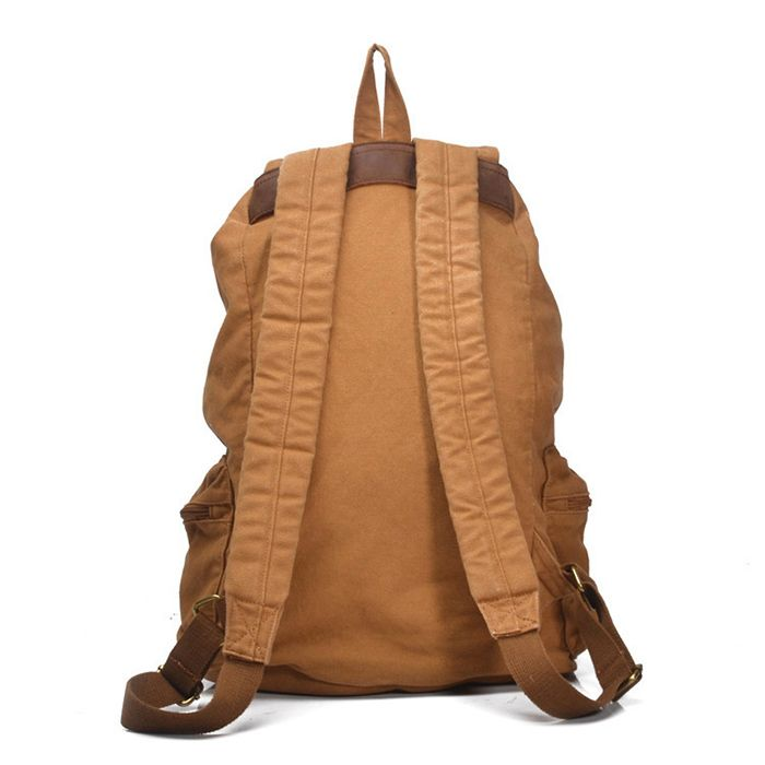 moderner Canvas Rucksack Segeltuch Backpack Herren