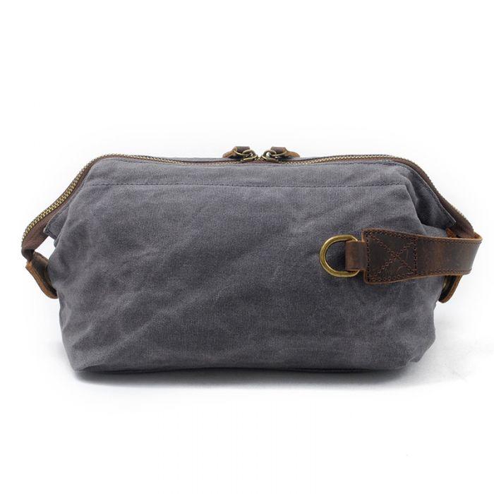 Herrenhandtasche Clutch aus Segeltuch