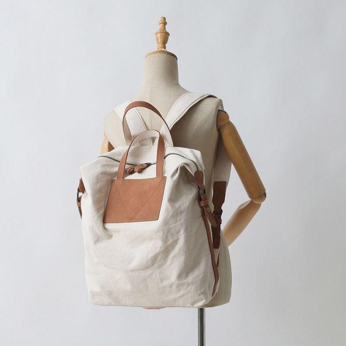 rucksack handtasche canvas
