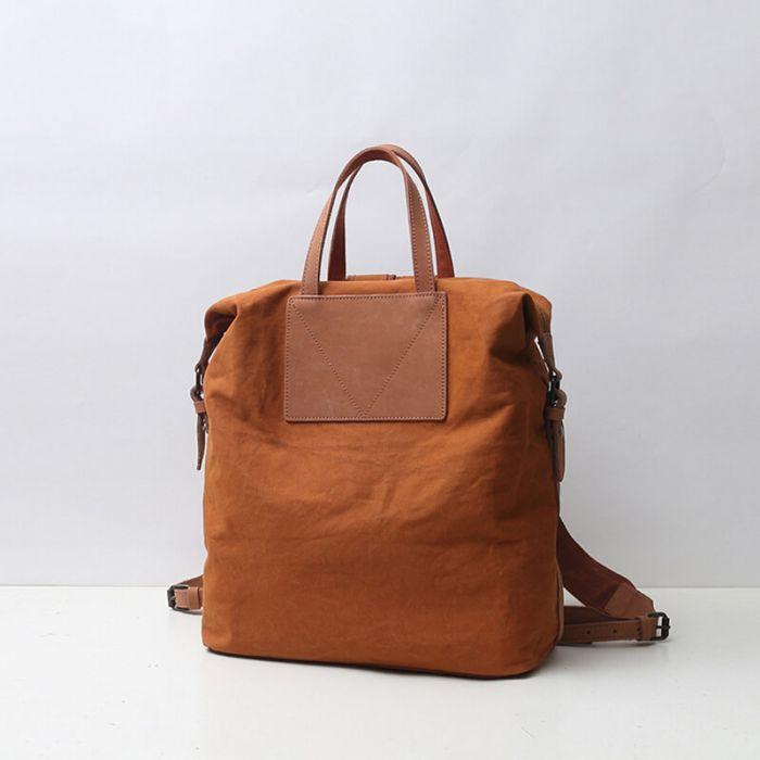 Rucksack Damen Canvas Handtasche Vintage