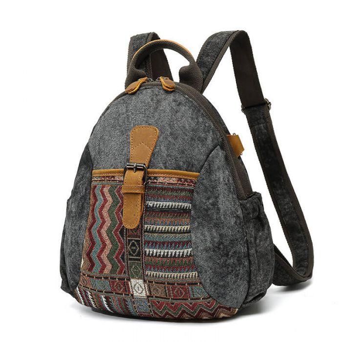 retro segeltuch rucksack canvas vintage