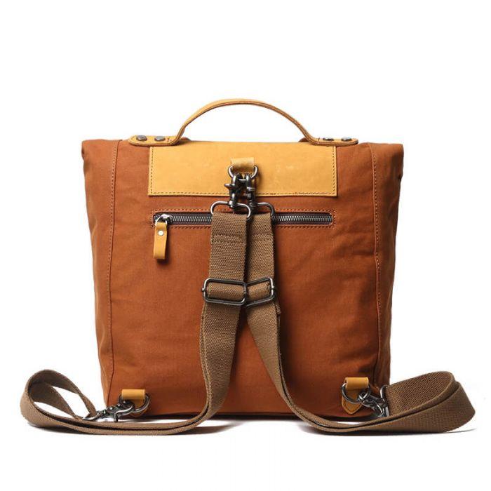 Vintage Rucksack Backpack Damen Canvas