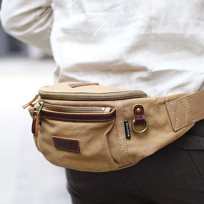 brustbeutel oder hüfttasche