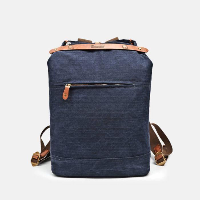 Rucksack Damen aus Canvas für freizeit in 2 Farben