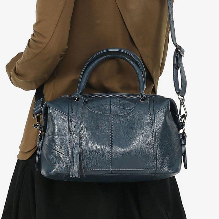 günstige Damen Handtasche Leder zum Umhängen