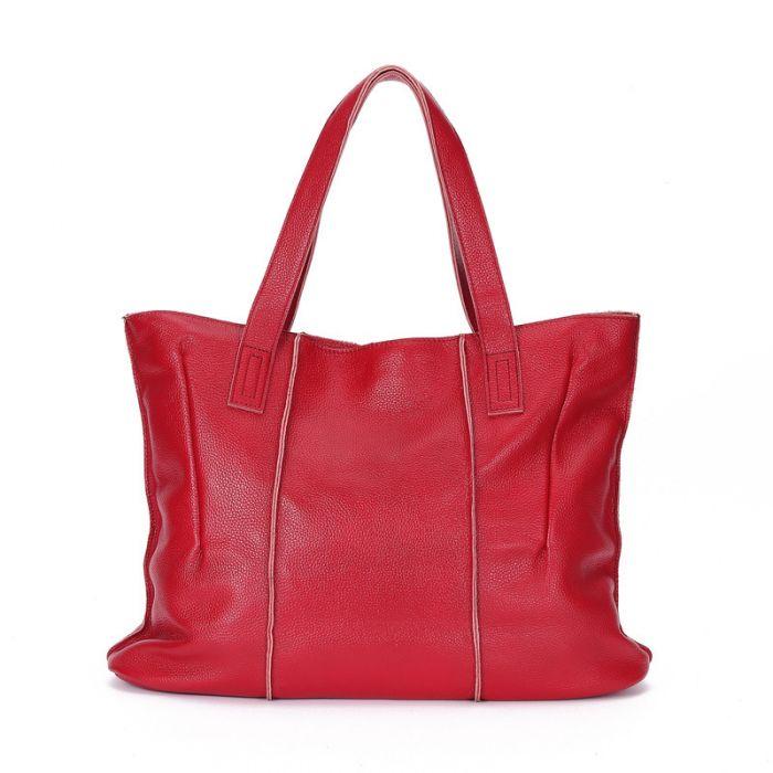 Damen Handtasche für den Alltag Tote Tasche Leder