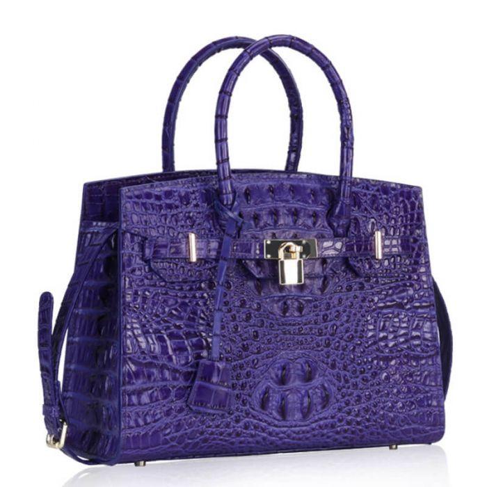 Handtasche Damen Leder Umhängetasche mit Henkel