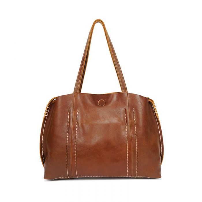 große Damen Handtasche Damenhandtasche Leder Schultertasche