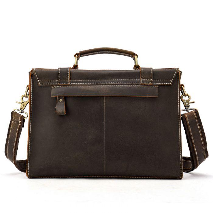 Aktentasche Herren Bussinesstasche echt Leder Umhängetasche