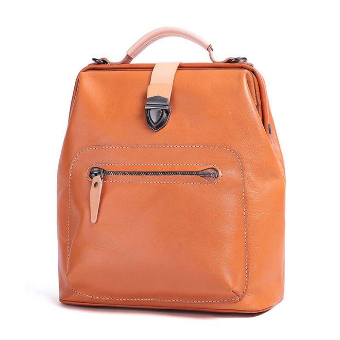 damen rucksack leder elegant