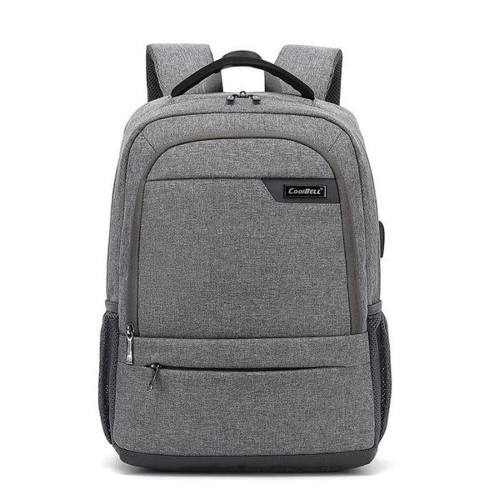 Oxford Laptop Rucksack mit USB für Herren